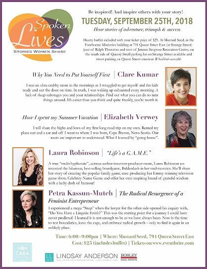 Spoken Lives West May 29 2018 Flyer