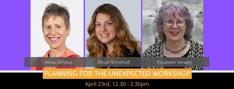 Planning for the Unexpected – A Lifestyle Workshop by Spoken Lives – April 23, 2020