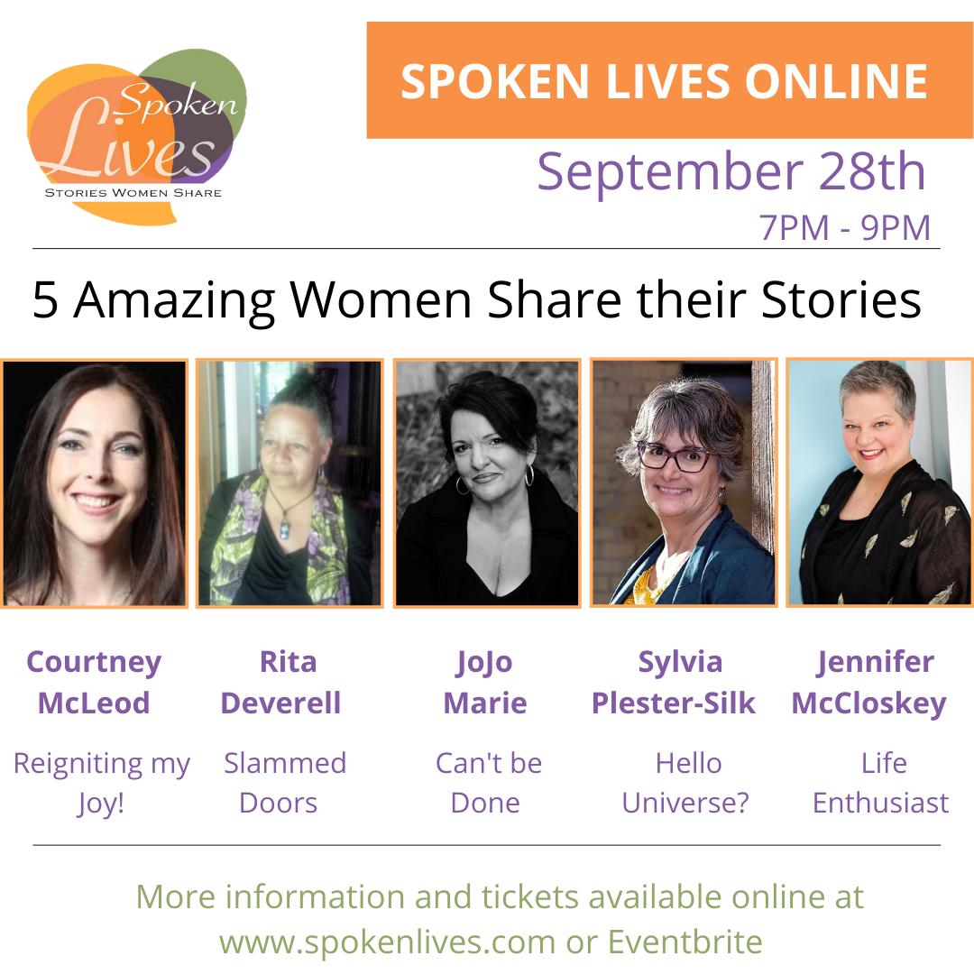 Spoken Lives Flyer Sept 2021